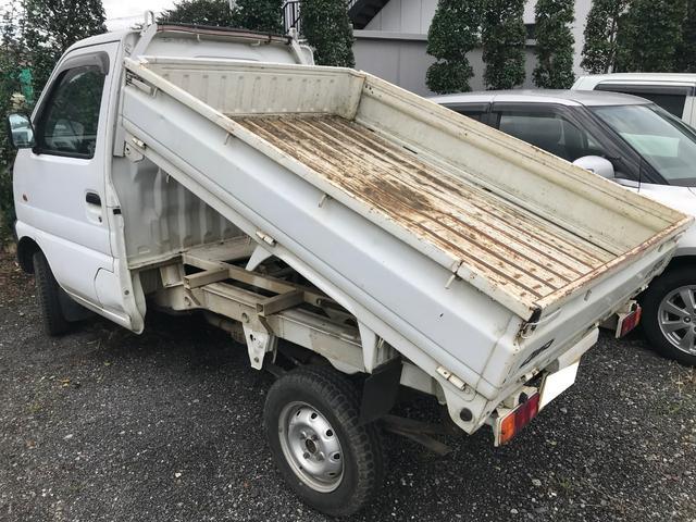 ダンプ 4WD MT 軽トラック ワンオーナー(3枚目)