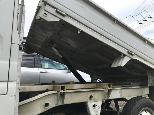 ダンプ 4WD MT 軽トラック ワンオーナー(4枚目)