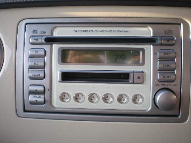スズキ アルトラパン G キーレス 記録簿 CD MD フル装備 ドアバイザー