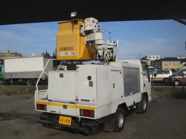 高所作業車 7m SH07A MT5速 ディーゼル(3枚目)