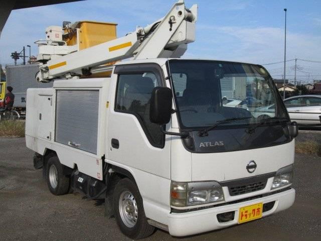 高所作業車 7m SH07A MT5速 ディーゼル(6枚目)