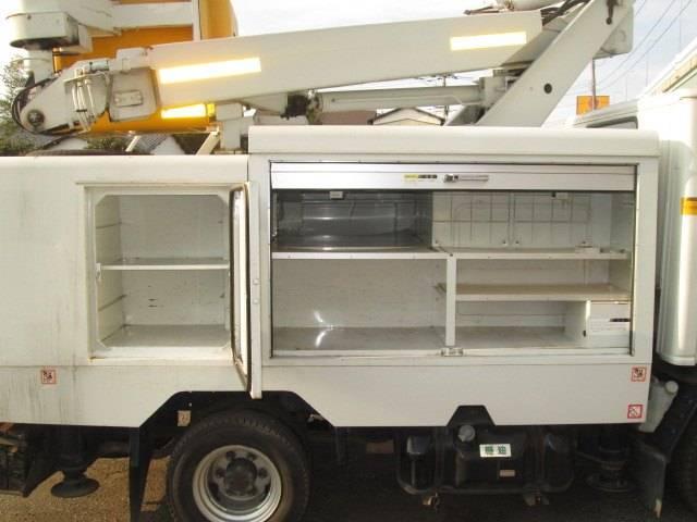 高所作業車 7m SH07A MT5速 ディーゼル(16枚目)