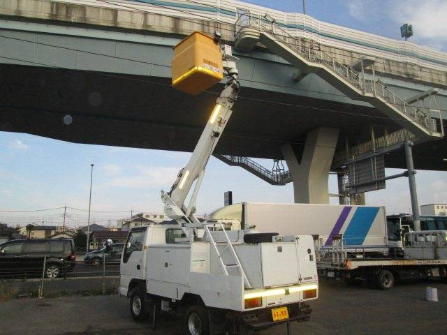 高所作業車 7m SH07A MT5速 ディーゼル(18枚目)