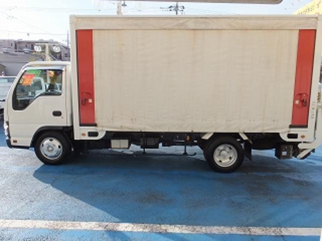いすゞ エルフトラック 2.0tロングFFLアクションバンアームゲート600kg