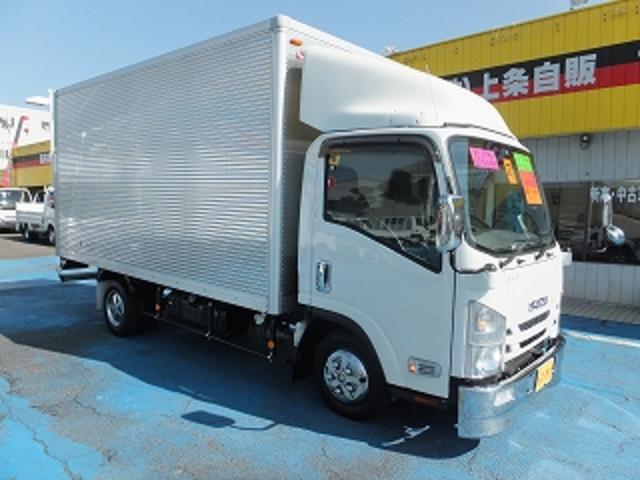 いすゞ エルフトラック 2.0tロングフルフラットロー アルミV