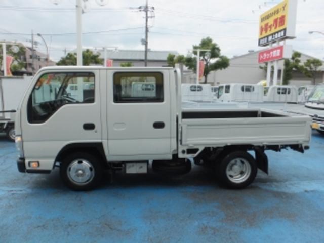 いすゞ エルフトラック 2.0t標準WキャブフルフラットローST