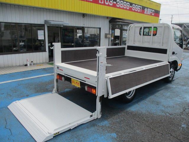 全低床 2.0t全低床 垂直ゲート600kg テーブル1150mm 木製荷台 10尺ボディー(6枚目)