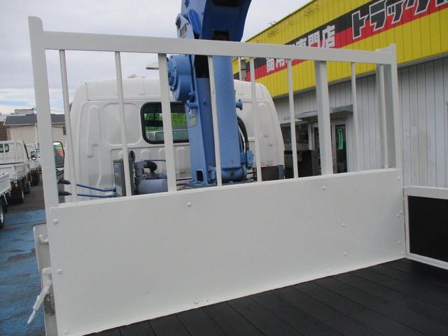 ロング高床 4.9D 標準 ロング 高床 2.6t吊り3段クレーン フックイン 木製荷台 床板張り ロープ穴4対(24枚目)