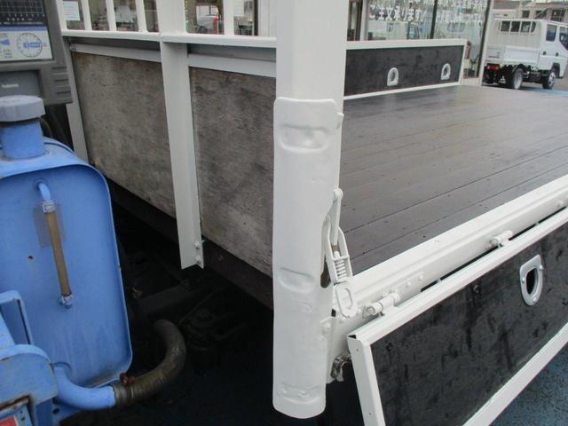 ロング高床 4.9D 標準 ロング 高床 2.6t吊り3段クレーン フックイン 木製荷台 床板張り ロープ穴4対(38枚目)