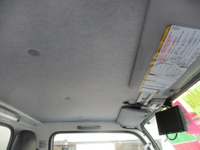 2.0tFFL アルミV垂直ゲート600kg 10尺 左スライド リヤ観音扉 ラッシング2段 社外地デジ1セグTV ナビ ETC カラーBモニター(26枚目)