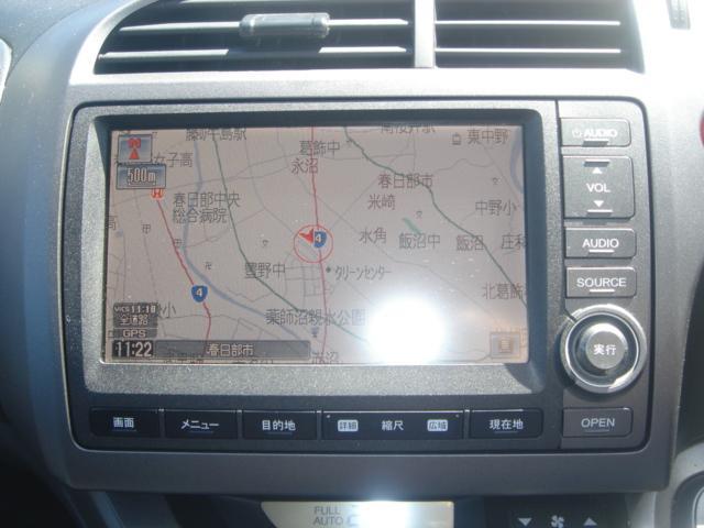 RSZ特別仕様車 HDDナビエディション HDDナビ・Rカメラ・HID・ETC・純正AW・無限グリル・無限バイザー・ステアリングスイッチ・革巻きステアリング・パドルシフト・ミュージックサーバー・記録簿・ワンオーナー車(20枚目)