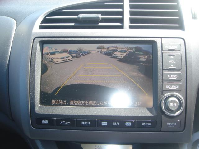 RSZ特別仕様車 HDDナビエディション HDDナビ・Rカメラ・HID・ETC・純正AW・無限グリル・無限バイザー・ステアリングスイッチ・革巻きステアリング・パドルシフト・ミュージックサーバー・記録簿・ワンオーナー車(21枚目)