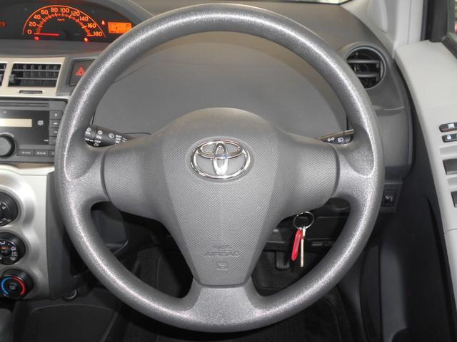 トヨタ ヴィッツ F ワンオーナー キーレス CVT CD ウインカーミラー