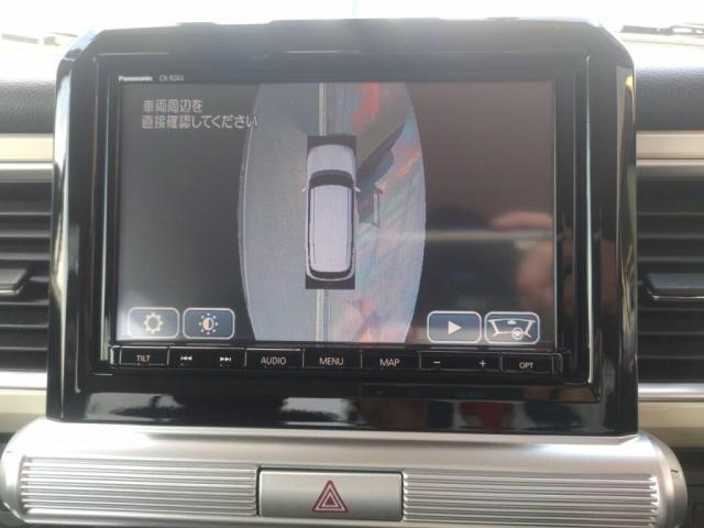 ハイブリッドMZ 禁煙車12セグMナビ全方位カメLEDライト衝突軽減Bキーフリ(14枚目)