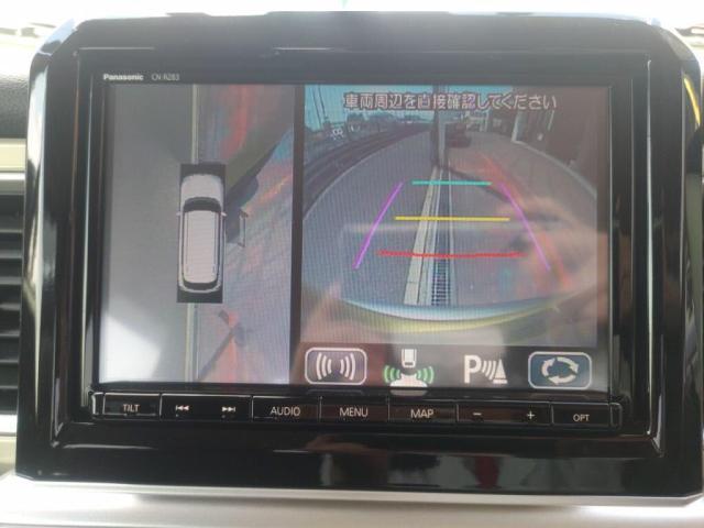 ハイブリッドMZ 禁煙車12セグMナビ全方位カメLEDライト衝突軽減Bキーフリ(15枚目)