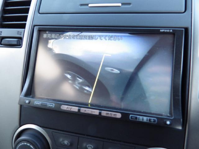 日産 ティーダ 15M 盗難防止装置、メモリーナビ、ワンセグTV,バックサイ