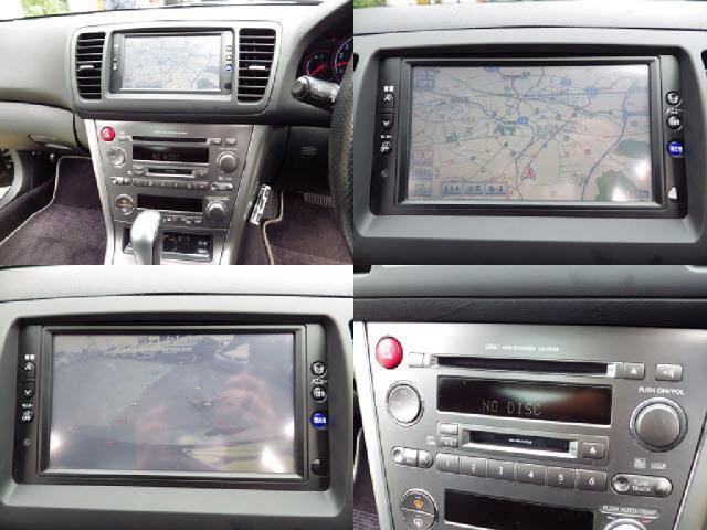 スバル レガシィB4 2.0GT ターボDVDナビBカメラETCキーレスHID