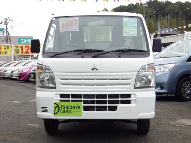 三菱 ミニキャブトラック M 届出済未使用車 衝突軽減ブレーキ