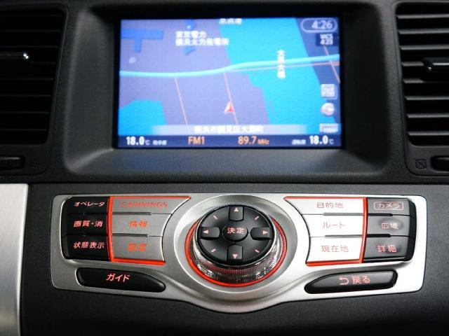 日産 ムラーノ 350XV FOUR 12セグDVDナビ横後カメラHIDキー