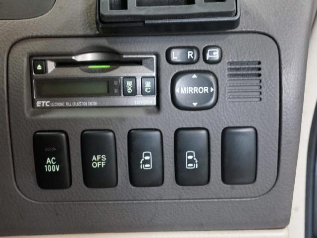 ETC、その他便利スイッチも動作オッケー!
