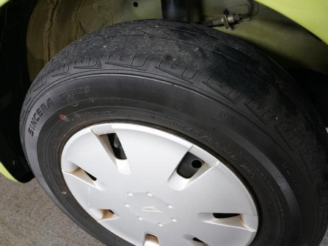 タイヤもまだ問題なし!