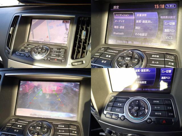 370GT タイプSP HDDナビ 1セグTV 後横カメラ ETC HID(5枚目)