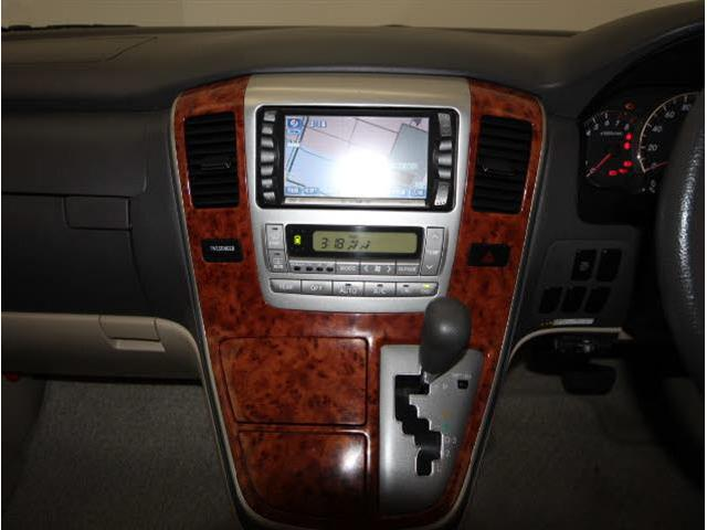 トヨタ アルファードG AX LエディションDVDナビBカメラ左側電動HIDETC