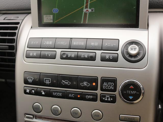 日産 スカイライン 350GT-8 DVDナビBカメラPシートHIDETC