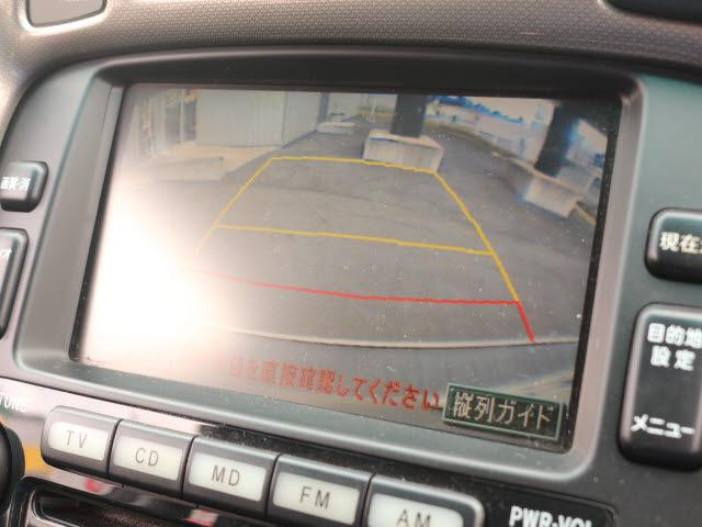 トヨタ クルーガーハイブリッド Gパッケージ 4WD  純正ナビ CDMD 3列シート