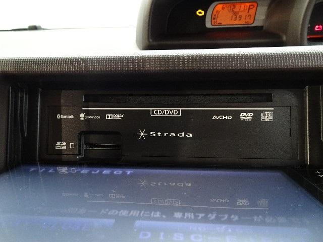 オーディオソースも多彩なナビゲーションです。DVD映像再生も可能です。