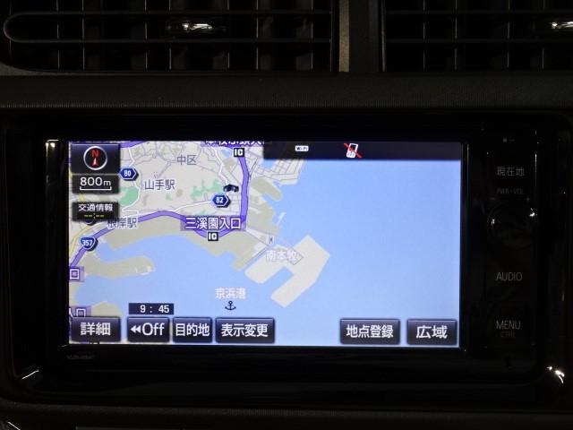 ☆純正・地デジ(フルセグ)内蔵SDメモリーナビ&バックカメラ付です。DVD映像再生も可能です。トヨタの通信ナビT-connectです。