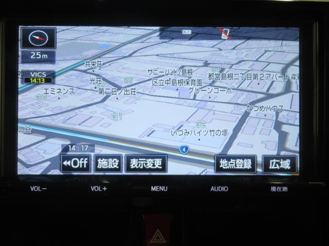 カスタムG-T Bカメ TVナビ アルミ 1オーナー 衝突軽減 盗難防止システム フルセグTV クルーズコントロール ETC アイドリングストップ メモリーナビ キーレス ABS CD スマキ 両パワースライドドア(5枚目)