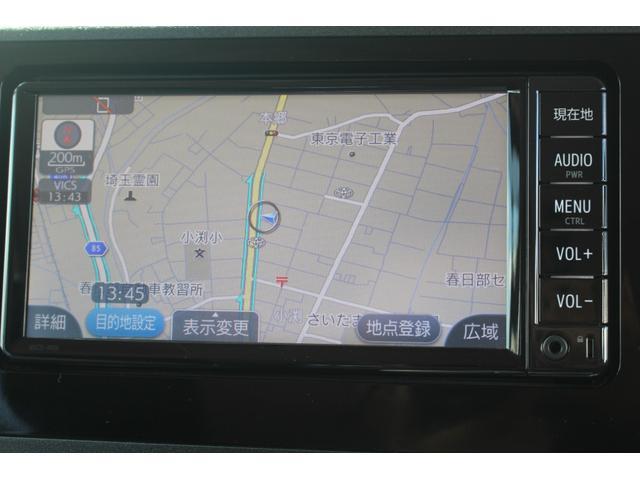 X S 衝突軽減ブレーキ 実走行6500km トヨタ純正SDナビ フルセグ BT接続オーディオ バックカメラ 片側パワースライドドア スマートキー プッシュスタート  社外LEDヘッドライト(3枚目)