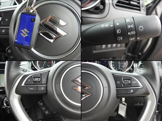 HYBRID RS セーフティパッケージ装着車 衝突軽減ブレーキ スズキ純正メーカーオプションナビ 全方位モニター フルセグ BT接続 USB接続 純正ビルトインETC シートヒーター アイドリングストップ スマートキー(13枚目)