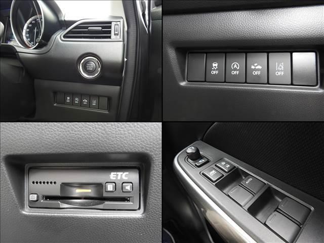 HYBRID RS セーフティパッケージ装着車 衝突軽減ブレーキ スズキ純正メーカーオプションナビ 全方位モニター フルセグ BT接続 USB接続 純正ビルトインETC シートヒーター アイドリングストップ スマートキー(20枚目)