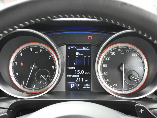 HYBRID RS セーフティパッケージ装着車 衝突軽減ブレーキ スズキ純正メーカーオプションナビ 全方位モニター フルセグ BT接続 USB接続 純正ビルトインETC シートヒーター アイドリングストップ スマートキー(43枚目)