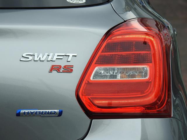 HYBRID RS セーフティパッケージ装着車 衝突軽減ブレーキ スズキ純正メーカーオプションナビ 全方位モニター フルセグ BT接続 USB接続 純正ビルトインETC シートヒーター アイドリングストップ スマートキー(75枚目)