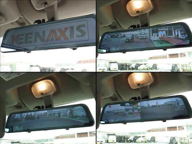PA ハイルーフ 社外デジタルインナーミラー バックカメラ 純正ラジオ(19枚目)