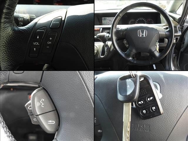 G AERO HDDナビスペシャルパッケージ ホンダ純正HDDナビ フルセグ バックカメラ 両側パワースライドドア キーレスキー(15枚目)