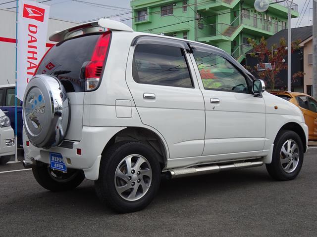 ダイハツ テリオスキッド X ターボ 4WD ワンオーナー ナビTV 純正15AW