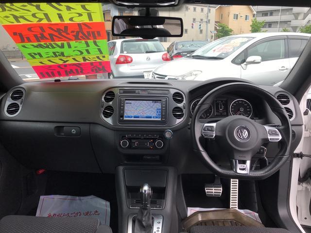 フォルクスワーゲン VW ティグアン Rライン 4WD ナビTV 社外マフラーローダウン19AW