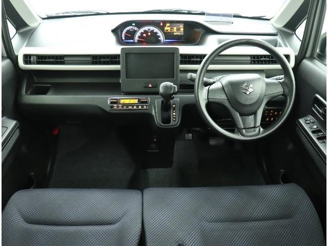 ハイブリッドFXセーフティパッケージ装着車 走行7000K スマートキー 衝突軽減ブレーキ 踏み間違い抑制 車線逸脱警報 オートマチックハイビーム シートヒーター ヘディングアップディスプレイ ベンチシート アイドリングストップ イモビ(2枚目)
