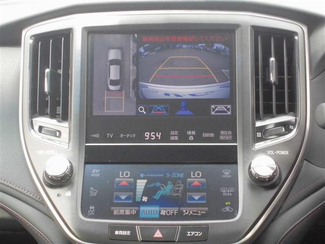 Four 黒本革シート 全方位モニター HDDナビ Bluetooth ETC シートヒーター・エアコン LEDヘッドライト メンテナンスノート記録簿付き(12枚目)