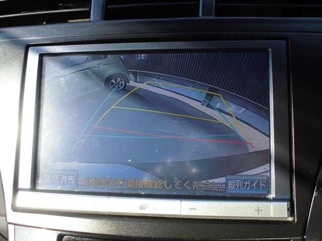 トヨタ プリウスアルファ G チューン ブラック 純正HDDナビ