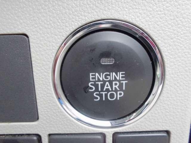 【キーレススタートシステム】鍵を鍵穴に差さなくても、ドアロックの開施錠やエンジンスタートが可能♪鍵はカバンやポケットに入れておけばOK☆さらに盗難防止装置も付いて、便利で嬉しい機能です!!
