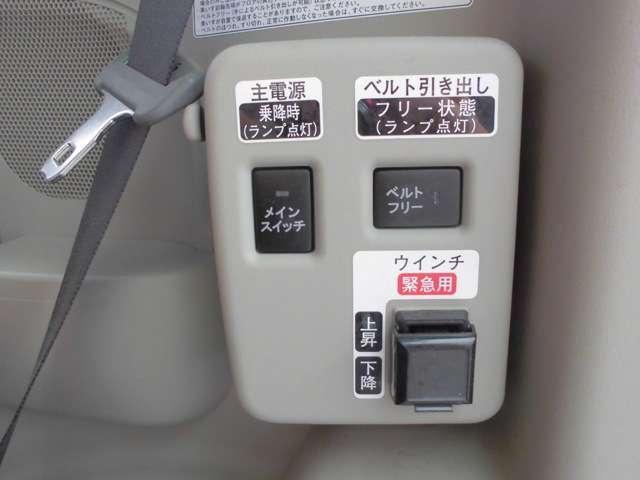 車イス用のスイッチになります。