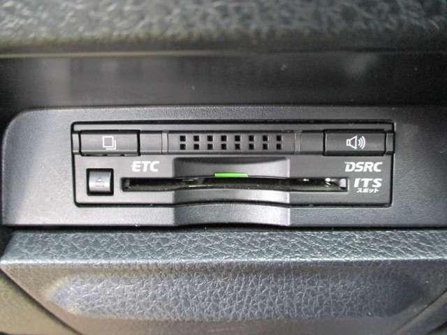 ETC車載器はビルトインタイプです!セットアップをすればすぐに利用できますよ(*^^*)