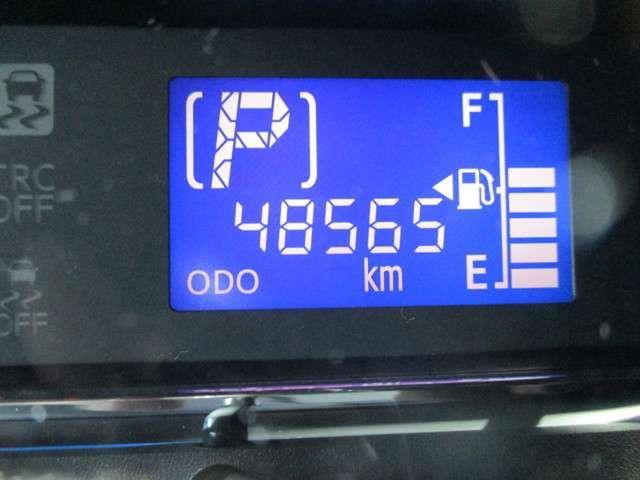 この走行距離をご覧ください!まだまだこれからのお車ですよ☆もちろん距離を走っていてもトヨタのロングラン保証があるから、安心してお乗りいただけます!!