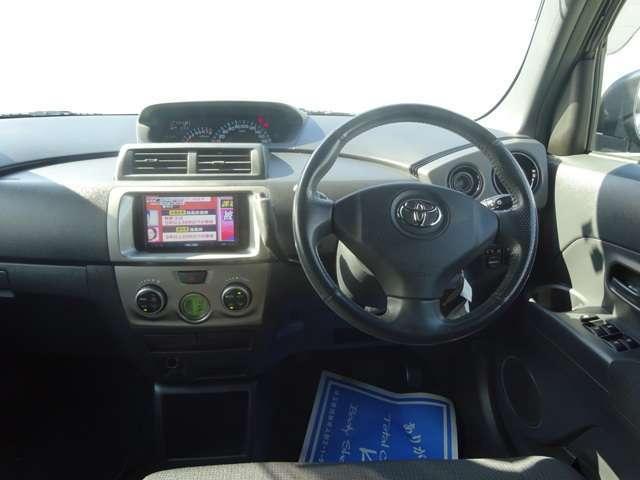 トヨタ bB Z エアロパッケージ 社外HDDナビ