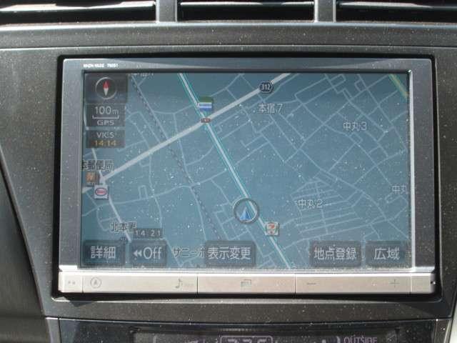トヨタ プリウスアルファ Gツーリングセレクション HDDナビ